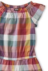 FAMILY CHECK FLUTTER ROMPER
