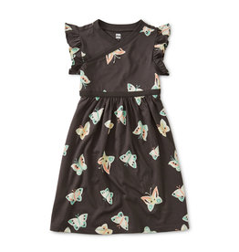 WRAP NECK DRESS - BUTTERFLY PEPPER
