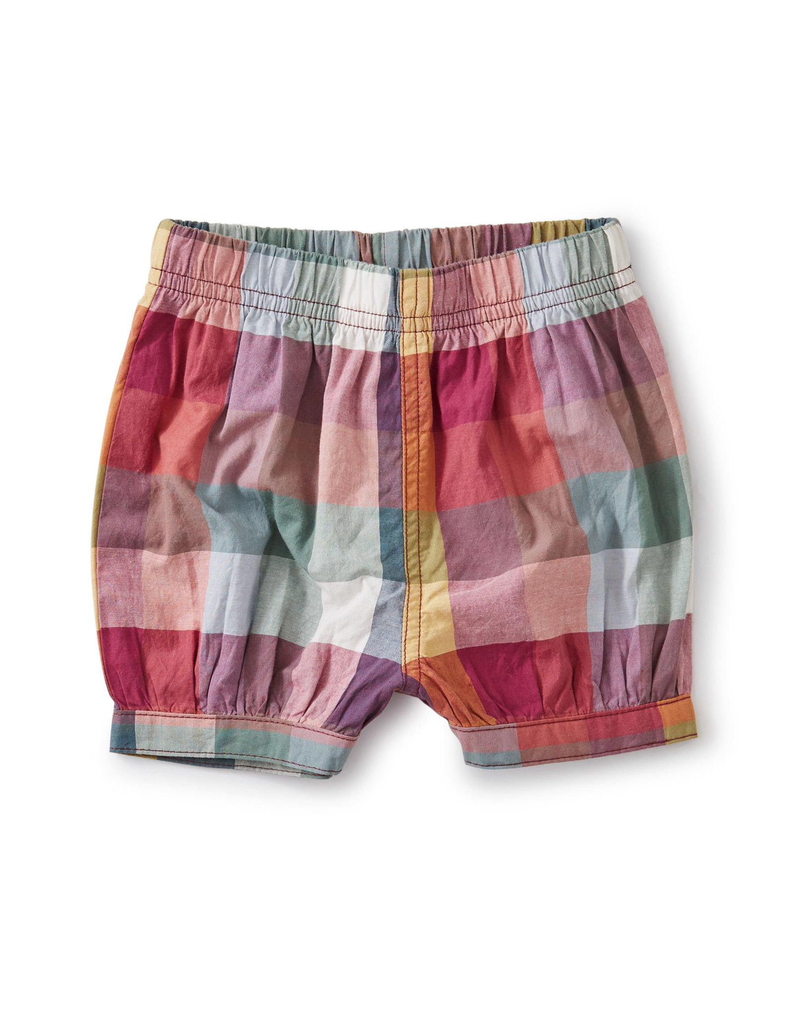 BUBBLE SHORTS - SUEZ PLAID