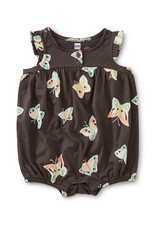 HENLEY ROMPER BUTTERFLY PEPPER