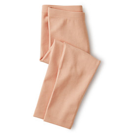 SOLID CAPRI LEGGINGS - DUSTY CORAL