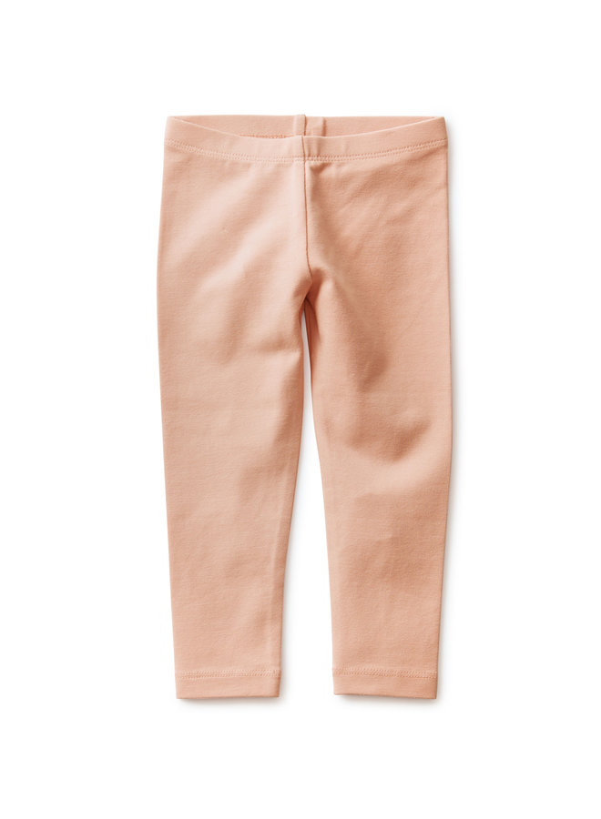 SOLID BABY LEGGINGS - DUSTY CORAL