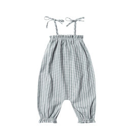 GINGHAM BUBBLE JUMPSUIT