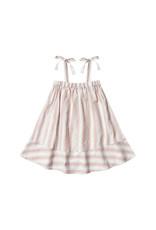 Rylee + Cru SHOULDER TIE DRESS - Petal Stripe