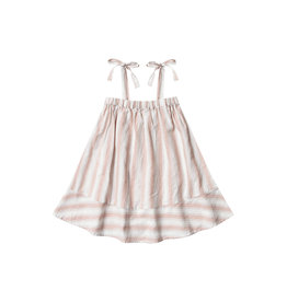 Rylee + Cru SHOULDER TIE DRESS - Petal Stripe