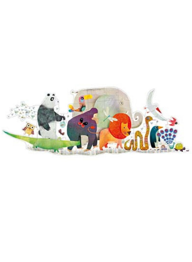 Giant Floor Puzzles Animal Parade