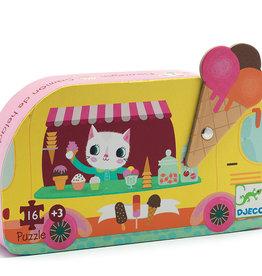Silhouette Puzzles Ice Cream Truck