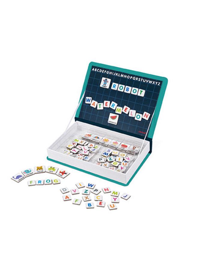 English Alphabet Magneti' Book