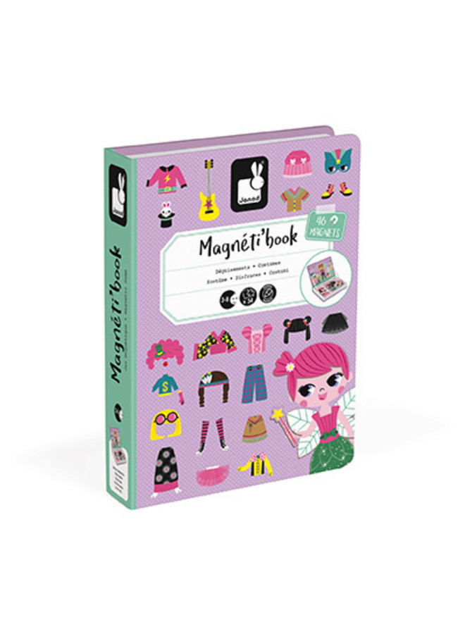 Girls' Costumes Magneti' Book