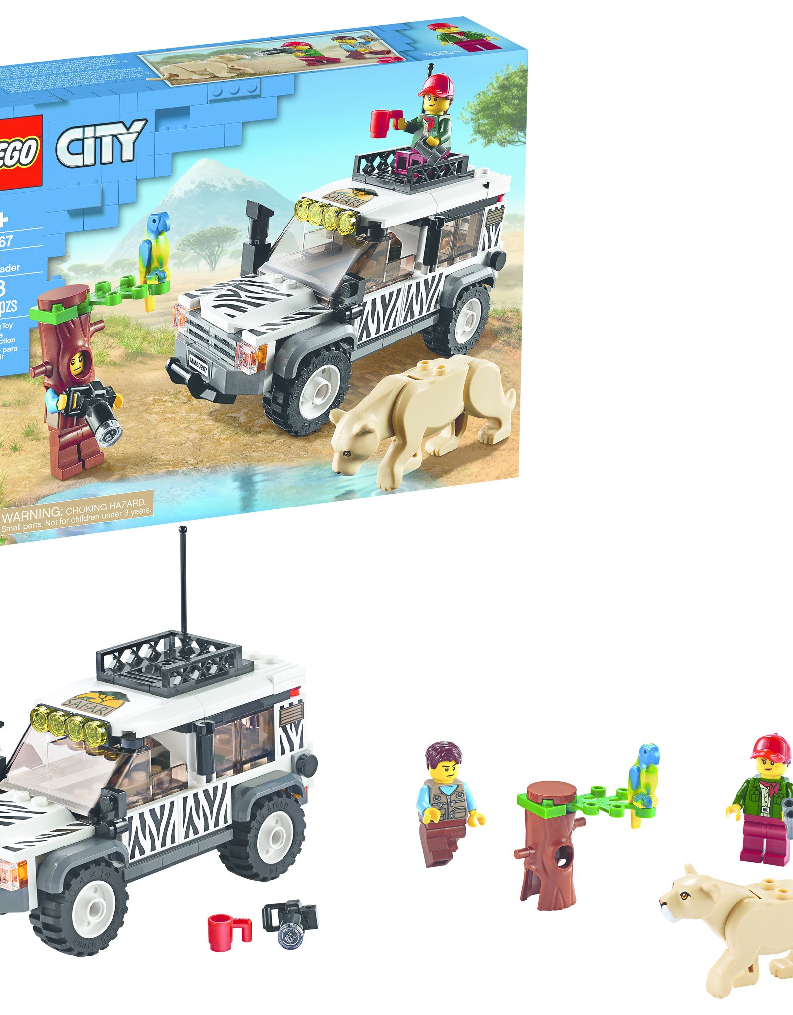 LEGO 60267 LEGO® City Great Vehicles Safari Off-Roader