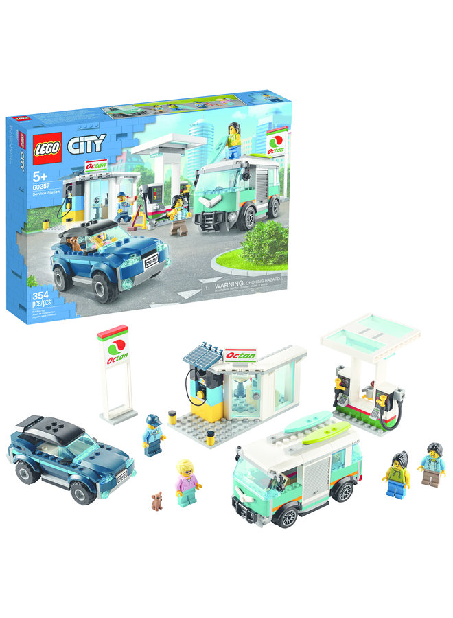 60257 LEGO® City Turbo Wheels Service Station