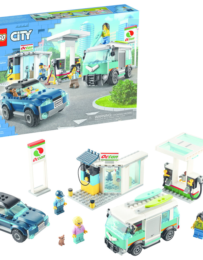 LEGO 60257 LEGO® City Turbo Wheels Service Station