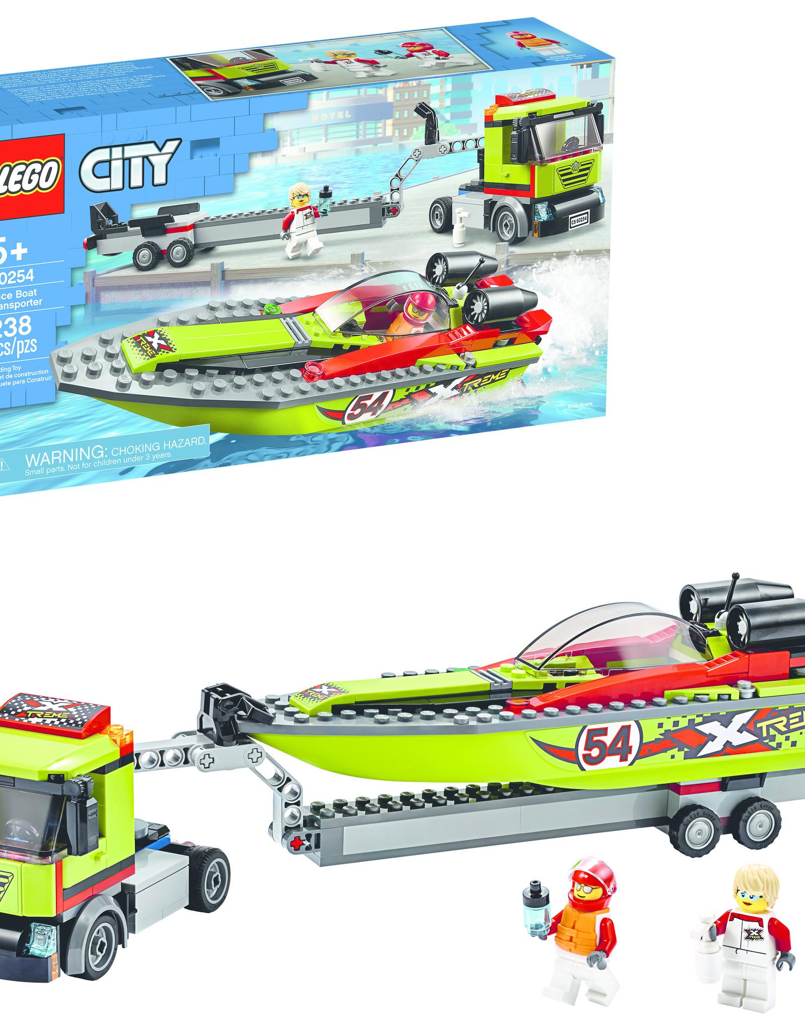 LEGO 60254 LEGO® City Great Vehicles Race Boat Transporter