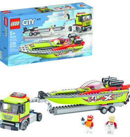 LEGO 60254 LEGO® City Great Vehicles Race Boat Transporter