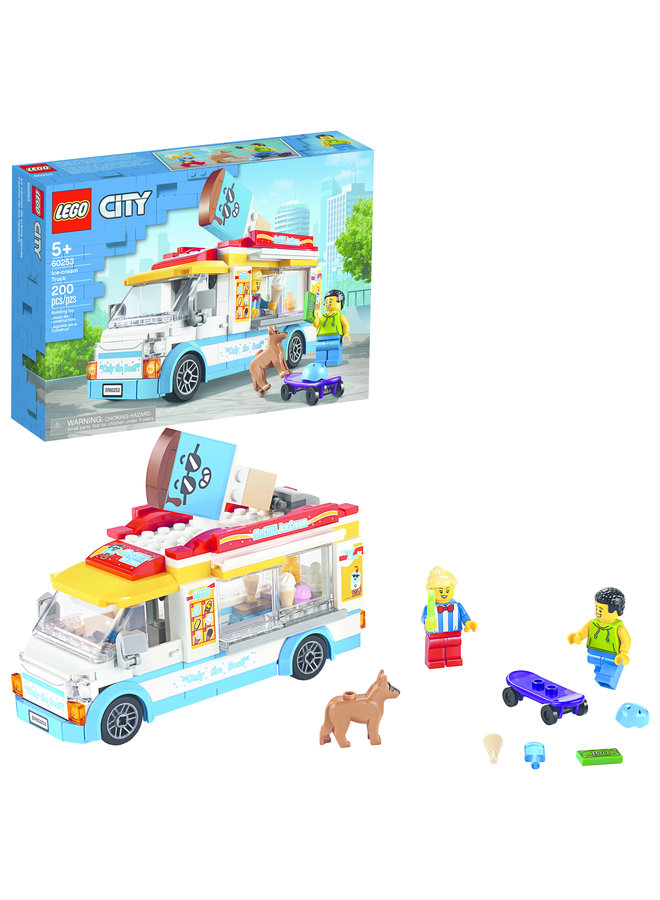 602253 LEGO® City Great Vehicles Ice Cream Truck