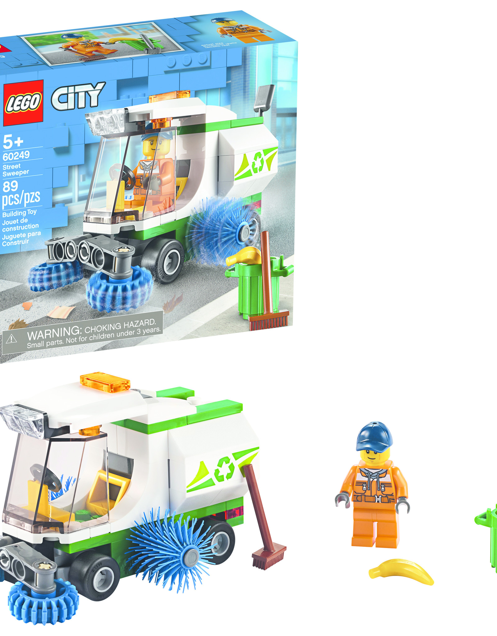 LEGO 60249 LEGO® City Great Vehicles Street Sweeper