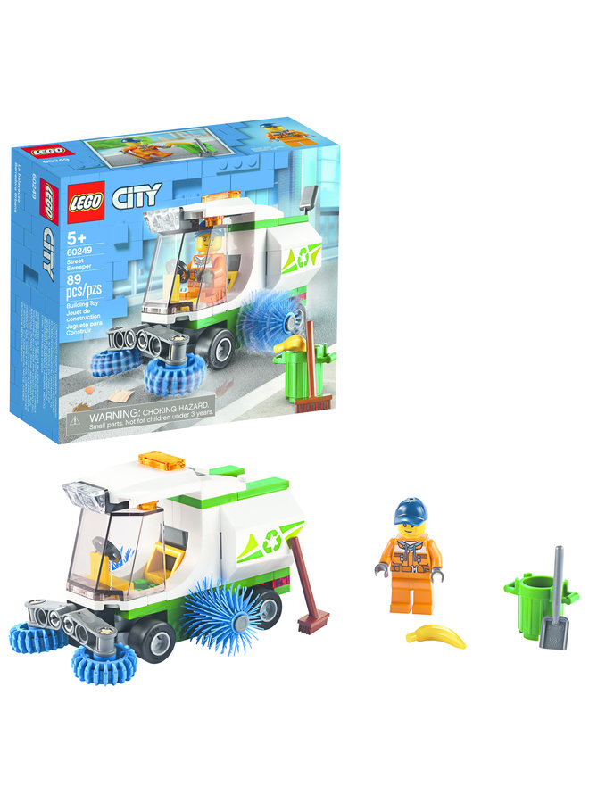 60249 LEGO® City Great Vehicles Street Sweeper
