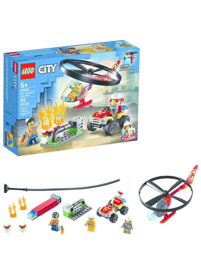 60248 LEGO® City Fire Fire Helicopter Response
