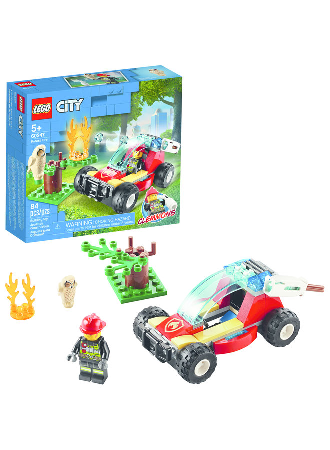 60247 LEGO® City Fire Forest Fire