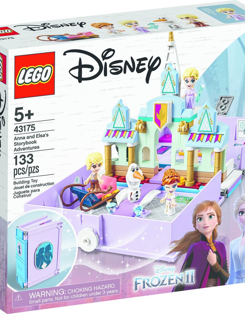 LEGO 43175 LEGO® Disney Princess Anna and Elsa's Storybook Adventures