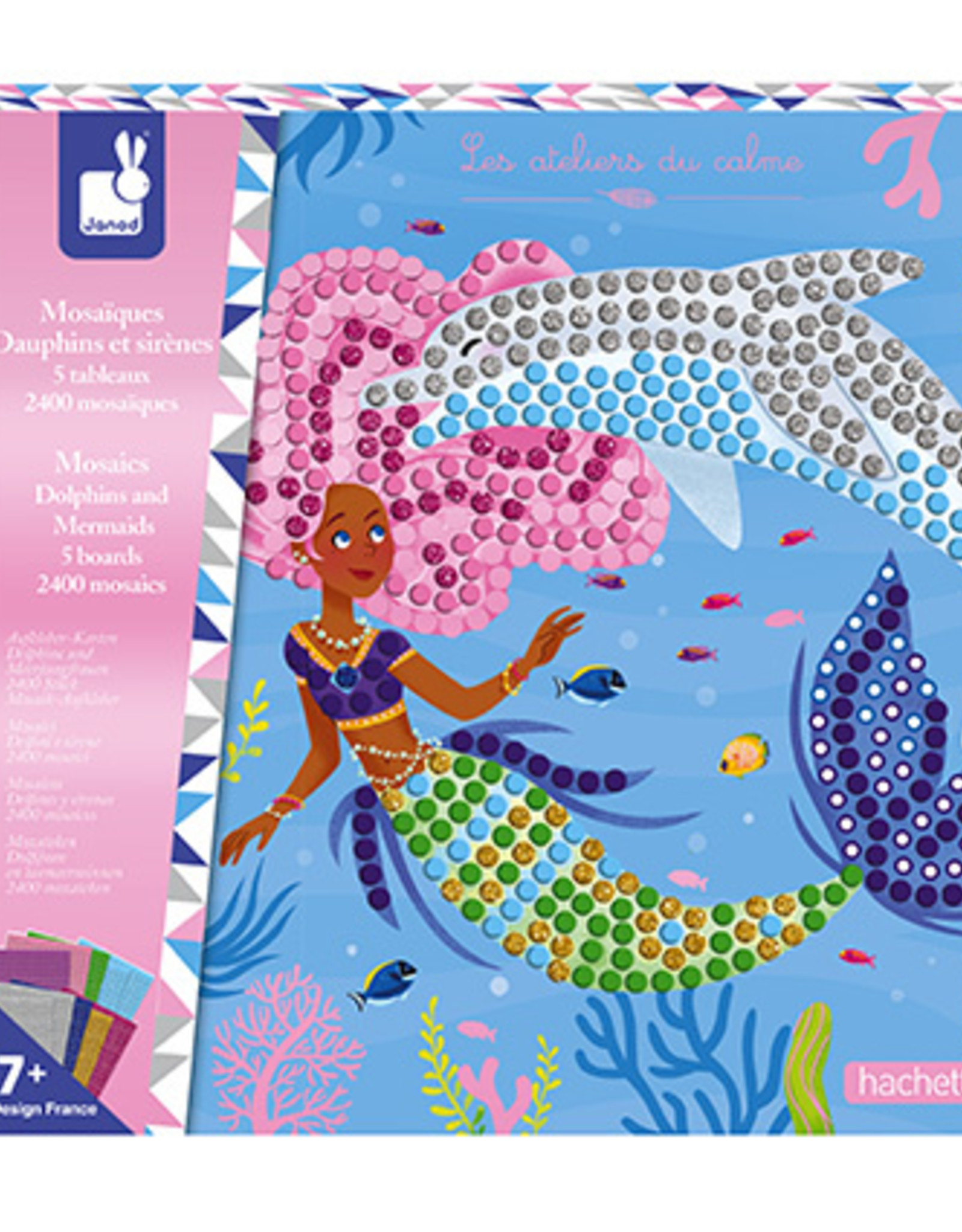 MOSAICS DOLPHINS AND MERMAIDS