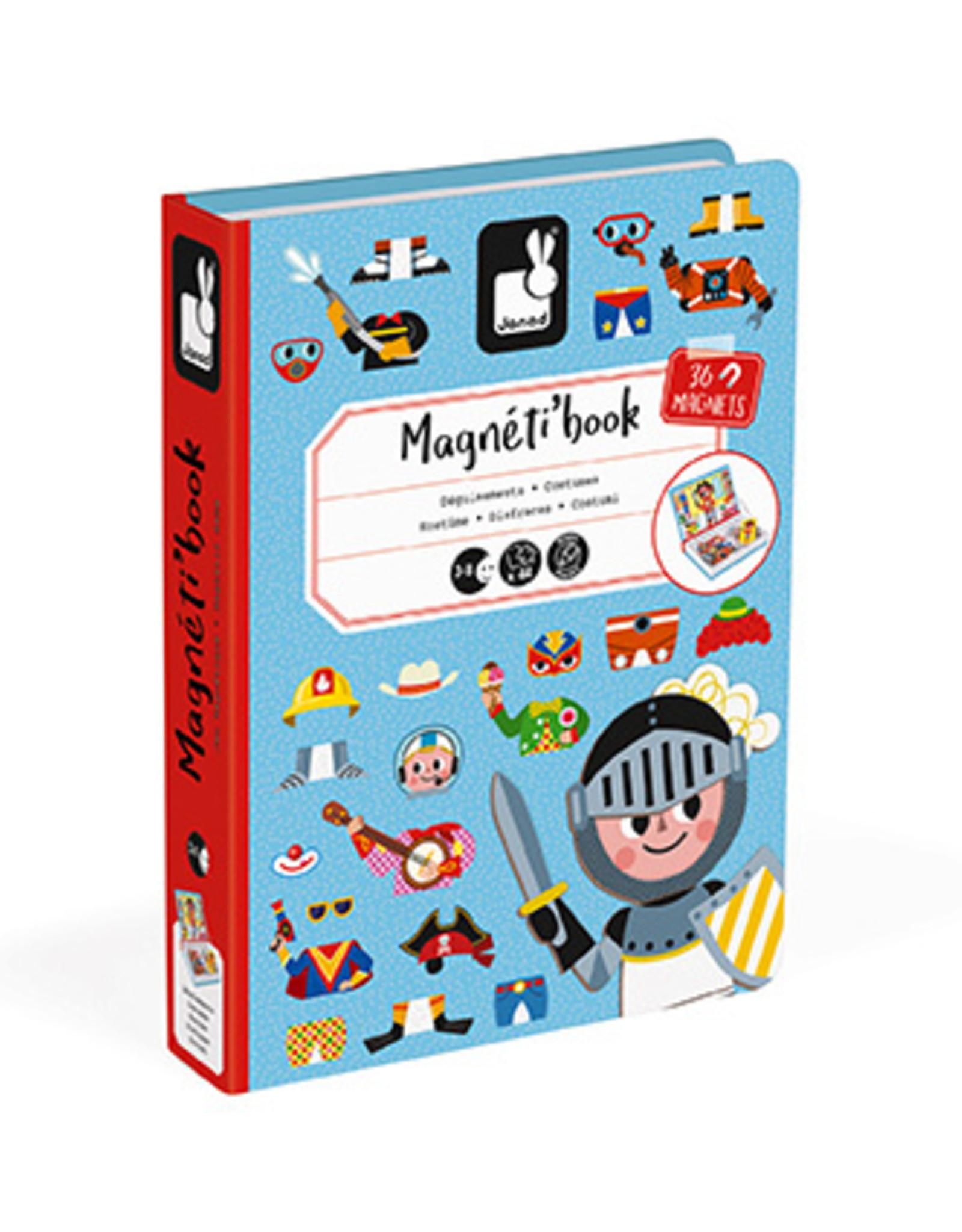 Boys' Costumes Magneti' Book