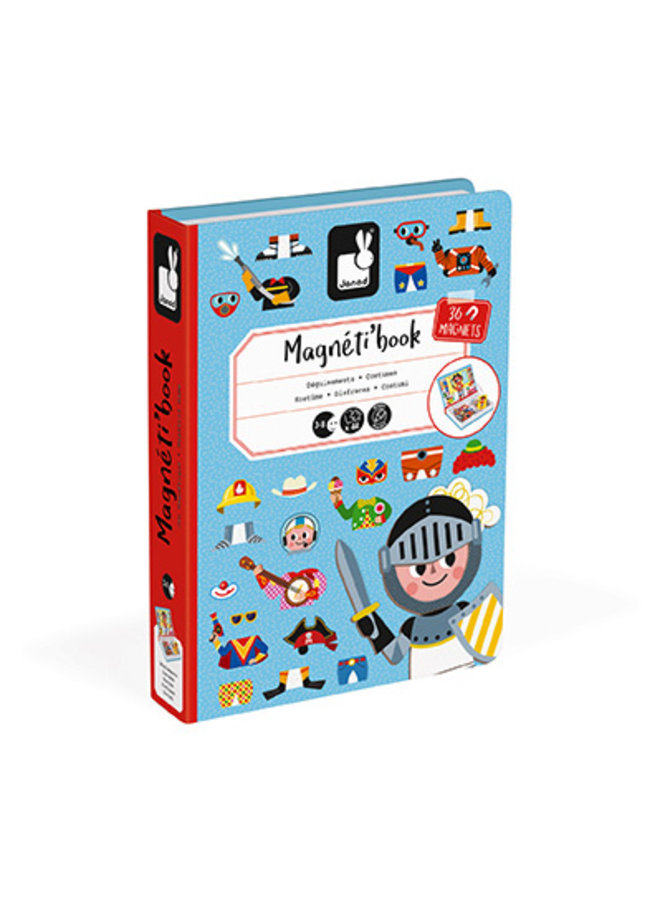 Boys' Costumes Magneti' Book