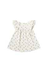 Flutter Dress - ivory/peach