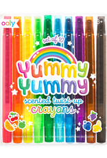 Yummy Yummy Scented Twist-Up Crayons (set of 10)