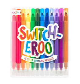 OOLY SWITCH-EROO! COLOR CHANGING MARKERS (SET OF 12)
