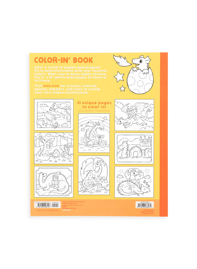 COLOR IN' BOOK