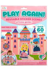 PLAY AGAIN! REUSABLE STICKER SCENE