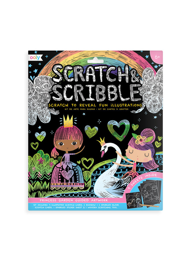 SCRATCH & SCRIBBLE ART KIT