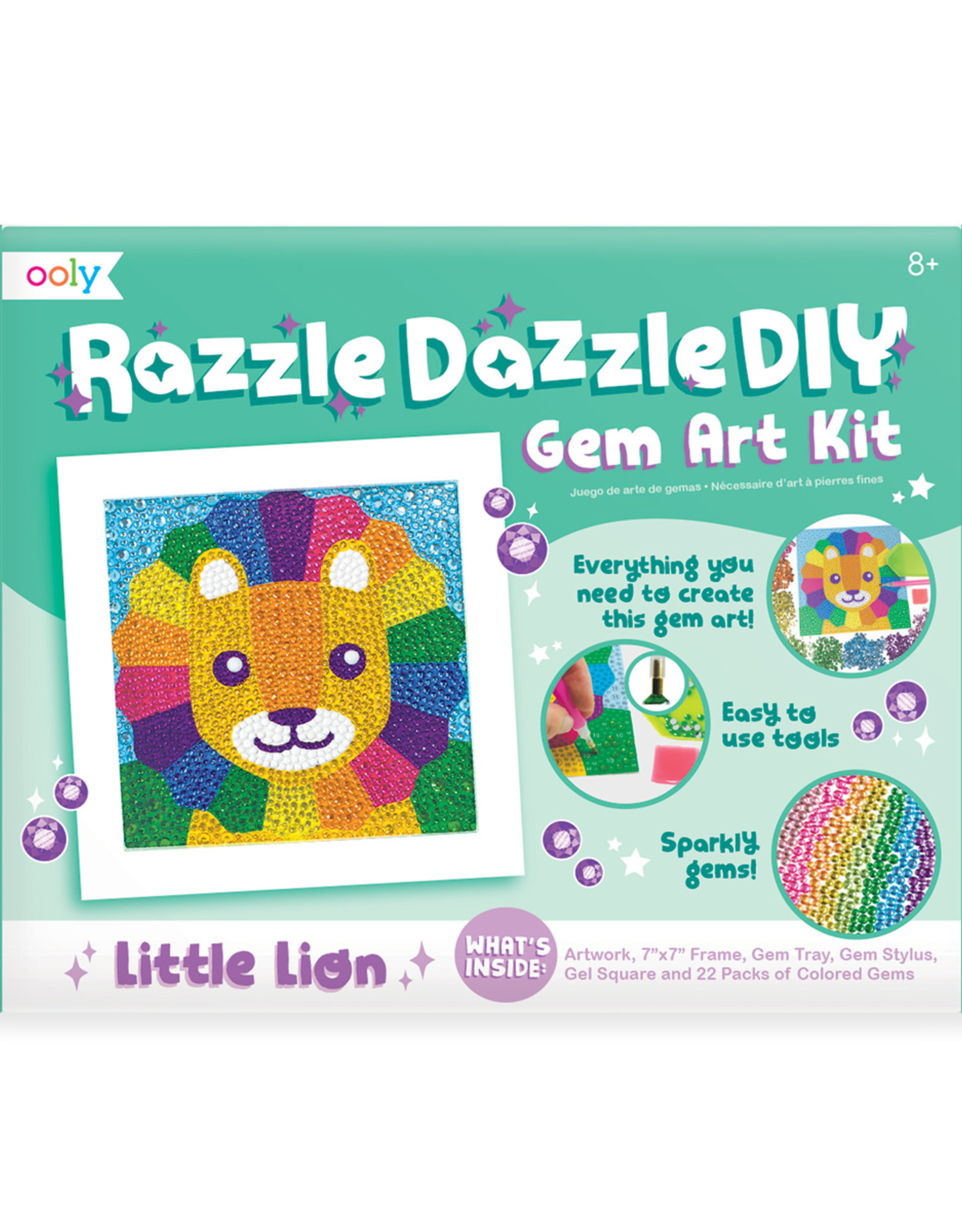 RAZZLE DAZZLE DIY GEM ART KIT