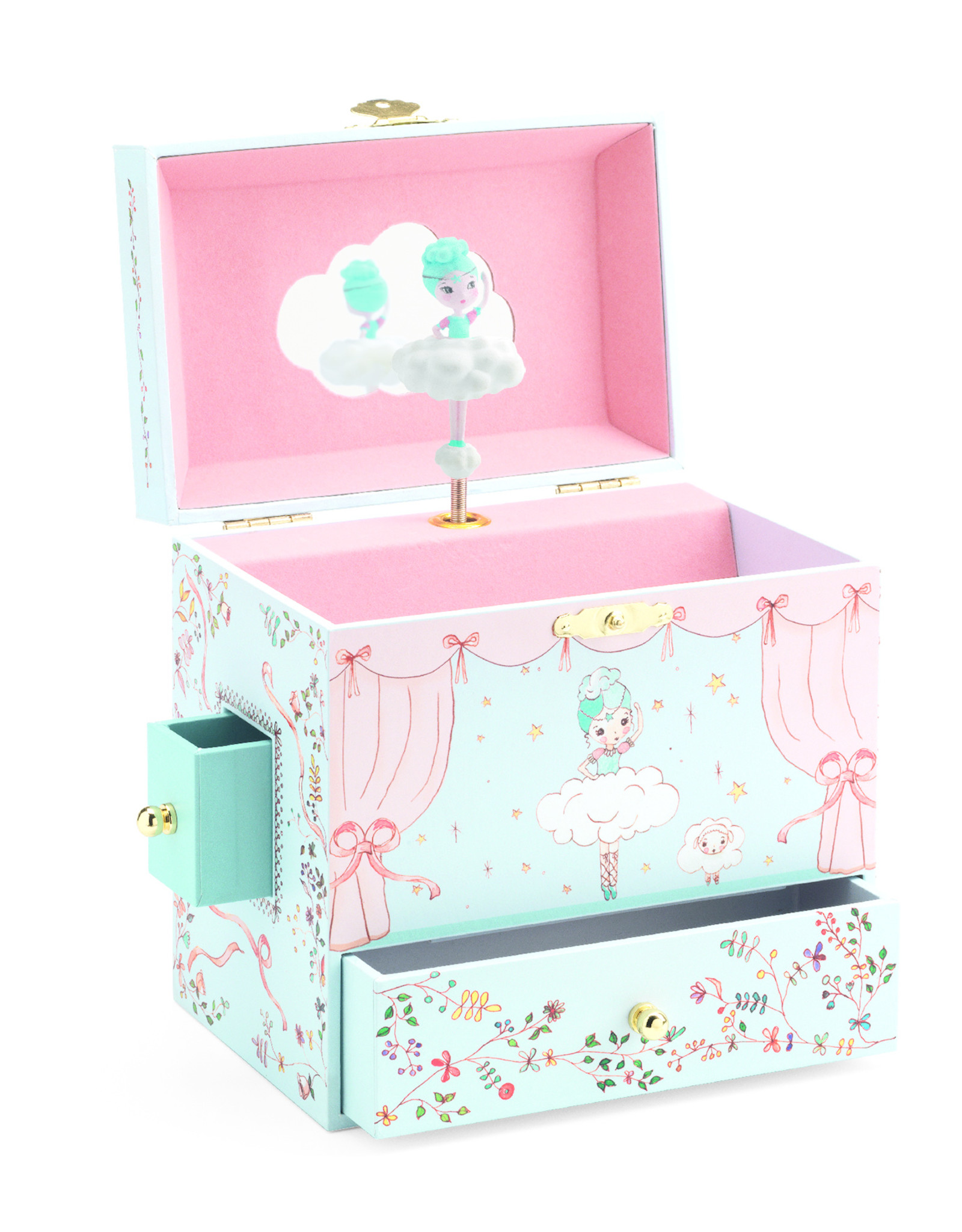 Music Boxes Ballerina on Stage