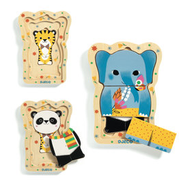 Wooden Puzzles Lucky & Co