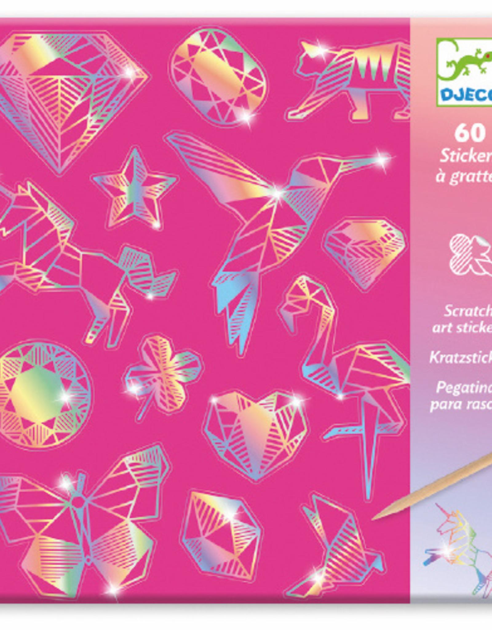 PG Scratch Stickers Diamond