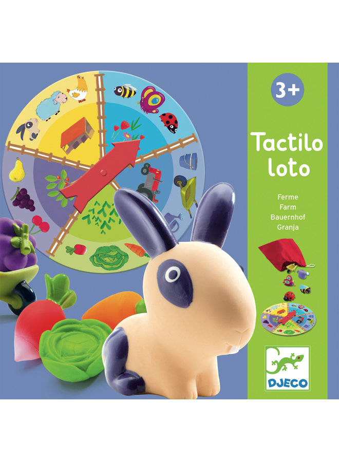 First Games Farm Tactilo Loto