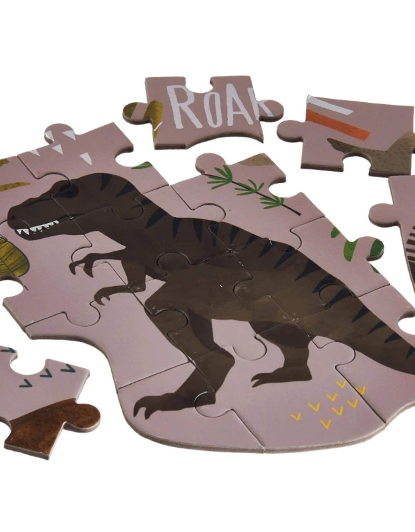 Dinosaur 80pc Jigsaw Puzzle in shaped Box