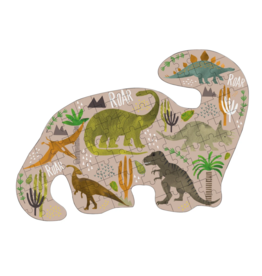 Dinosaur 80pc Jigsaw Puzzle in shaped Box