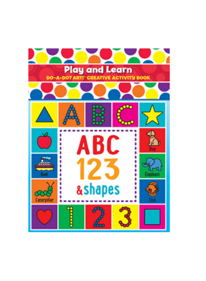 DO-A-Dot Play & Learn ABC Book