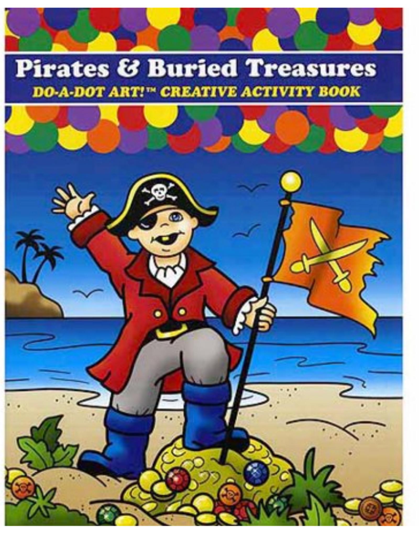 DO-A-DOT PIRATES & TREASURE BOOK