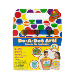 DO-A-DOT RAINBOW MARKERS (4PK)
