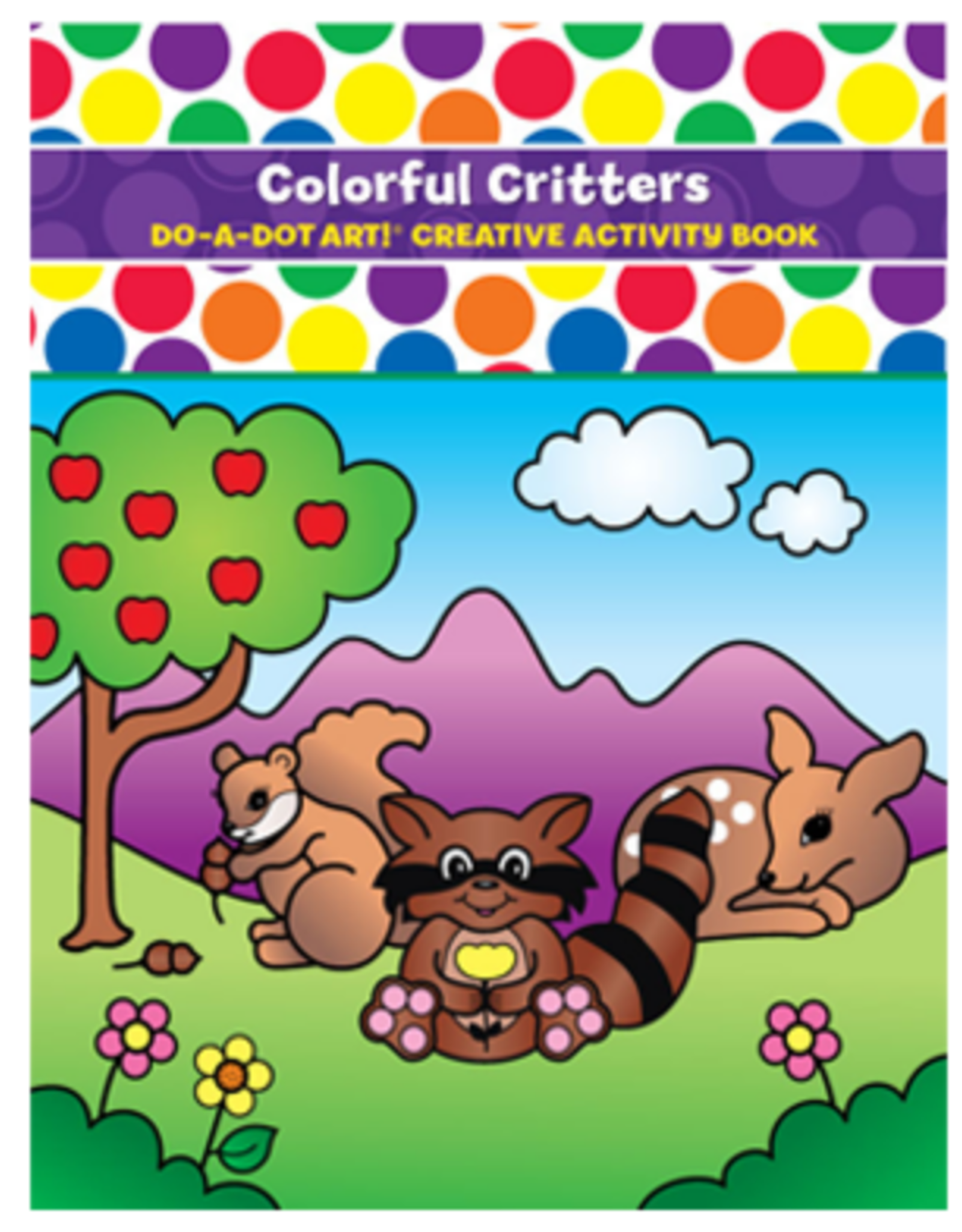 Do-A-Dot Colorful Critters Book