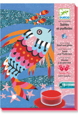 Le Grand Artist - Coloured Sand Fish Rainbows