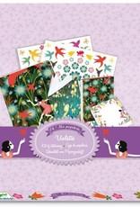 Violette Stationery Set