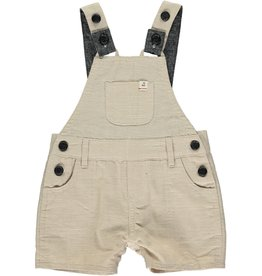 Stone woven dungarees