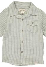 Khaki gauze s/s shirt