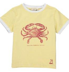 Yellow crab tee