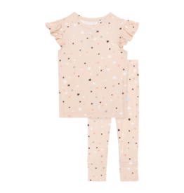 Star - Ruffled Capsleeve Loungewear